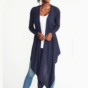 Old Navy Maternity Long Open-Front Nursing Sweater